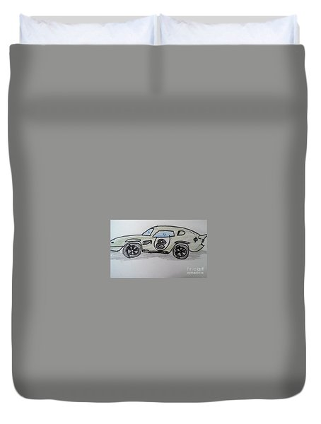 Ac Cobra Le Mans Duvet Cover