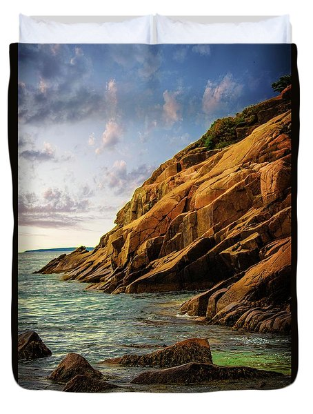 Acadia National Park--maine Duvet Cover by Sherman Perry