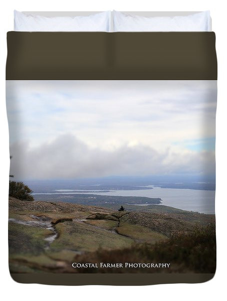 Acadia Views Duvet Cover