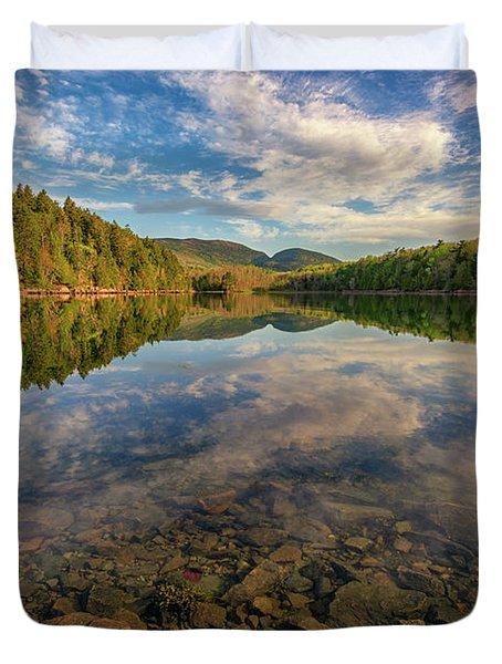Acadian Reflection Duvet Cover by Rick Berk