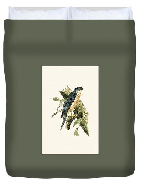 Accipiter Sphenurus Duvet Cover