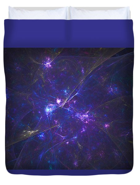 Accusing Spirit Duvet Cover
