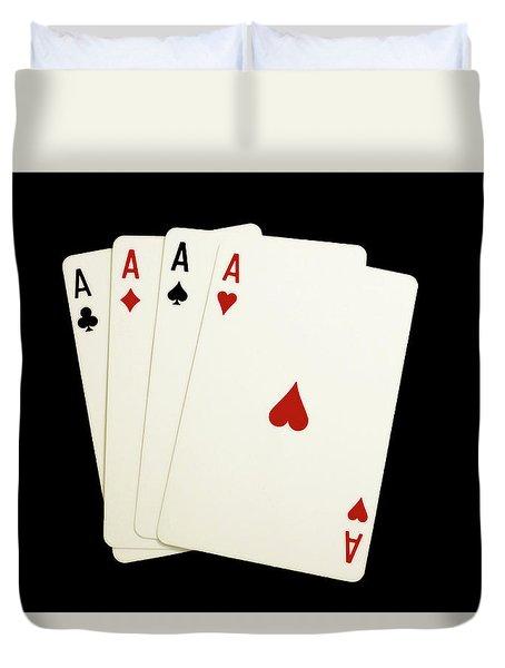 Aces Duvet Cover