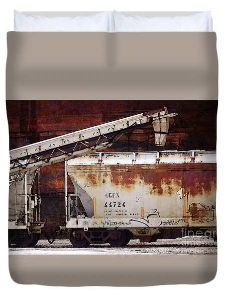 A C F X 44724 Duvet Cover by David Blank