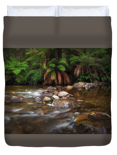 Acheron River Duvet Cover
