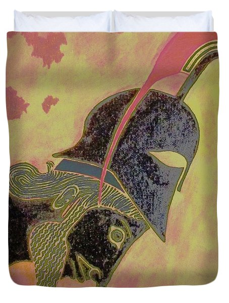 Achilles Duvet Cover
