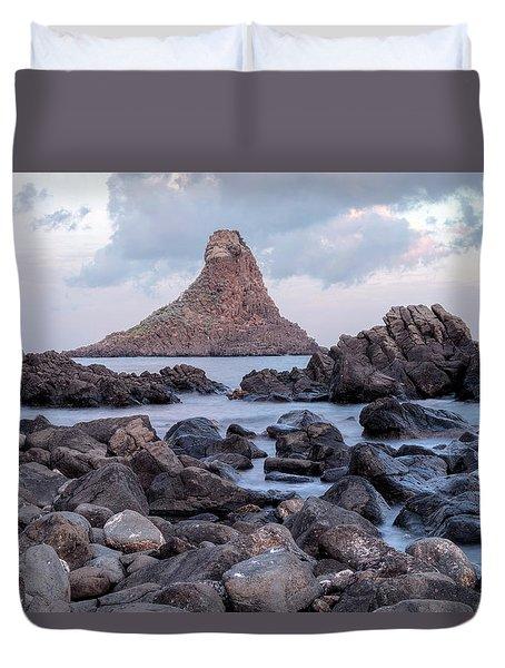 Aci Trezza - Sicily Duvet Cover