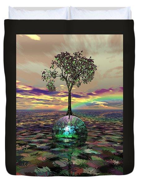 Acid Tree Duvet Cover