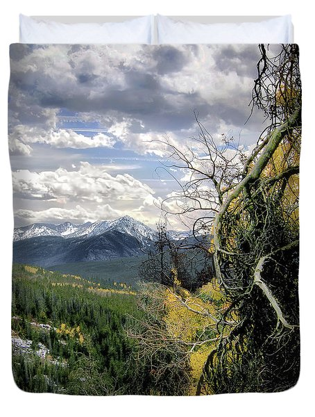 Acorn Creek Trail Duvet Cover