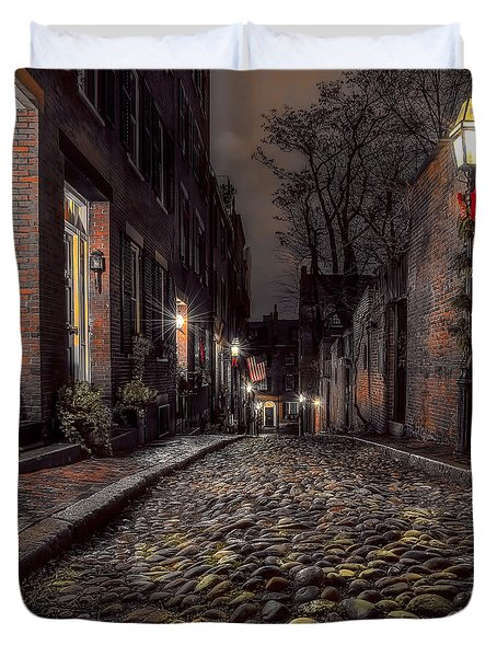 Acorn Street Duvet Cover