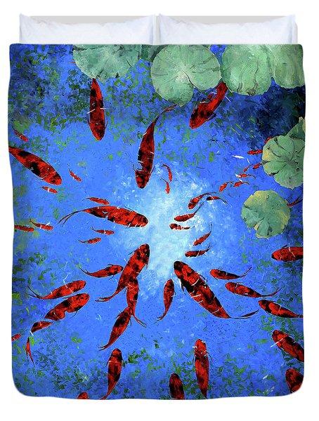 Acqua Azzurra Duvet Cover