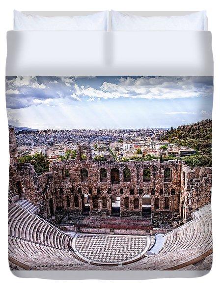 Acropolis Duvet Cover