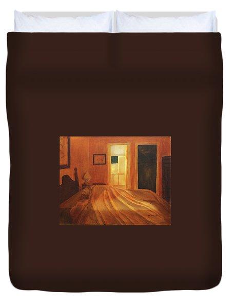 Across The Bed Duvet Cover