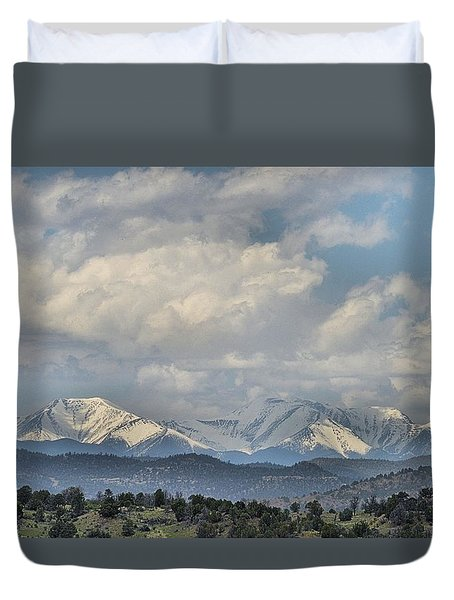 Across The Border Duvet Cover