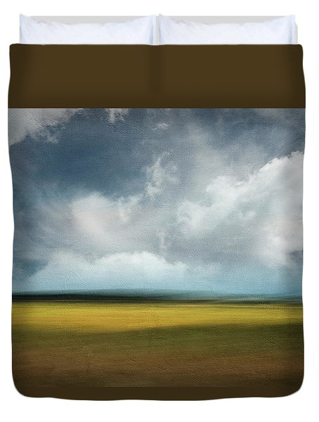 Across The Marsh Duvet Cover