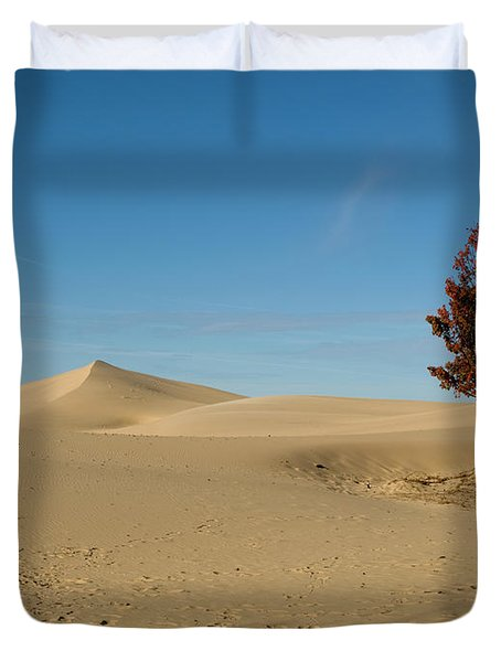 Duvet Cover featuring the photograph Across The Sand 2 by Tara Lynn