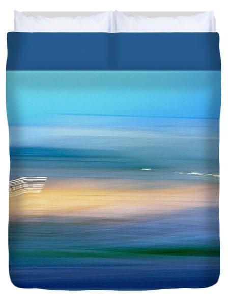 Across The Seven Seas Duvet Cover