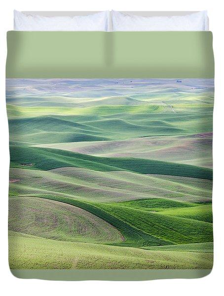 Across The Valley Duvet Cover