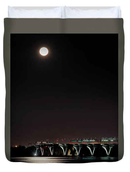 Across The Water Duvet Cover
