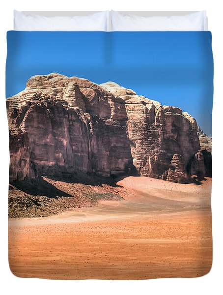 Across Wadi Rum Duvet Cover