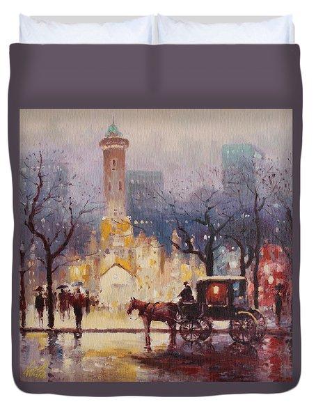 Acrylic Msc 054 Duvet Cover