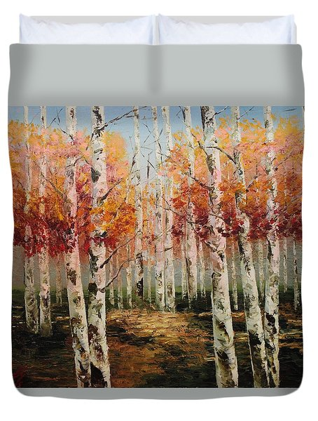 Acrylic Msc 096 Duvet Cover