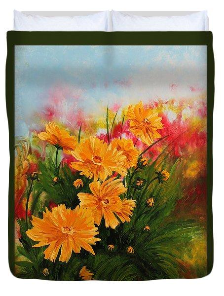 Acrylic Msc 216 Duvet Cover