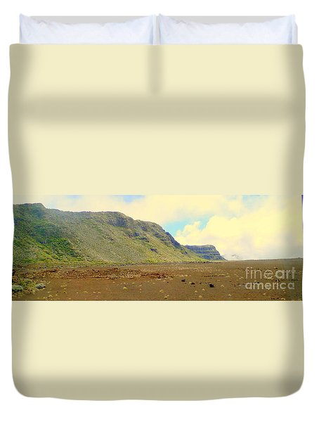 Active Volcano Duvet Cover