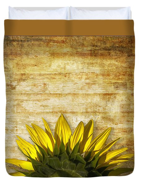 Duvet Cover featuring the photograph Ad Orientem by Melinda Ledsome