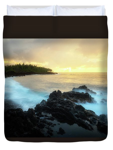 Duvet Cover featuring the photograph Adam And Eve by Ryan Manuel