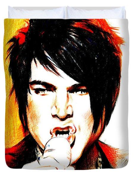 Adam Lambert Duvet Cover