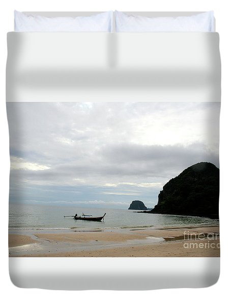 Andaman Sea Duvet Cover