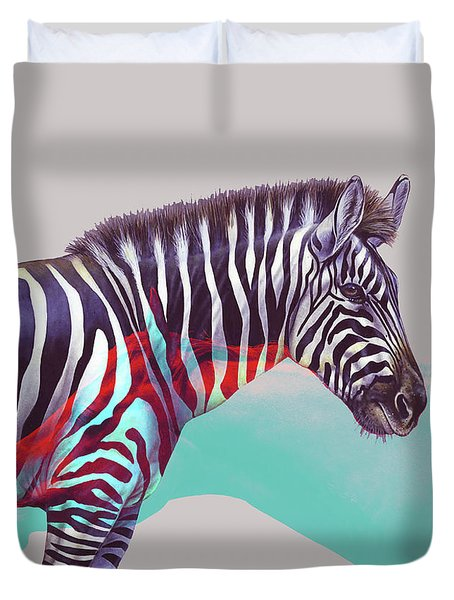 Adapt To The Unknown Duvet Cover
