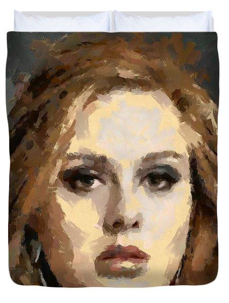 Adele Duvet Cover by Dragica Micki Fortuna