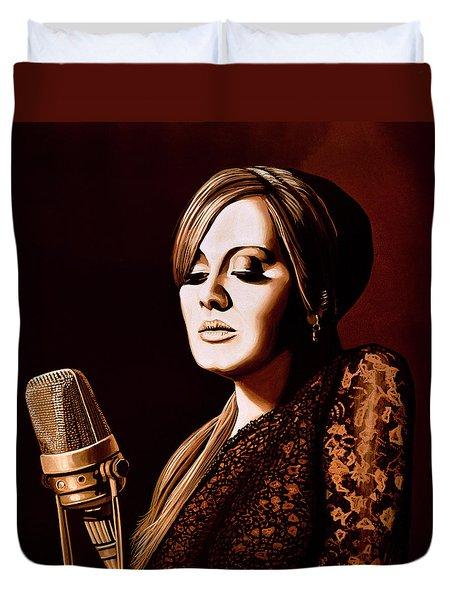 Adele Skyfall Gold Duvet Cover