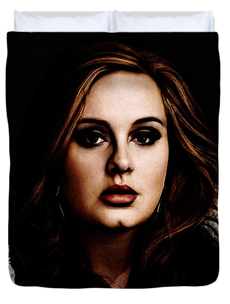 Adele Duvet Cover by The DigArtisT