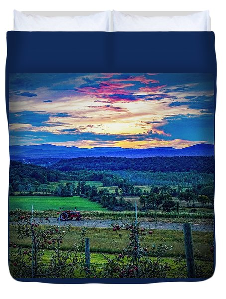 Adirondack Country Duvet Cover