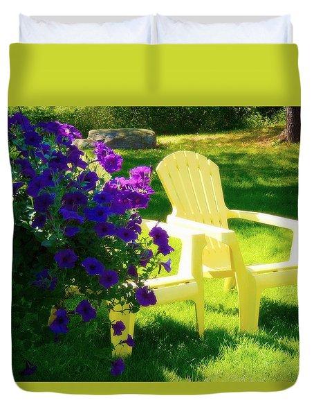 Adirondack Summer Days Duvet Cover