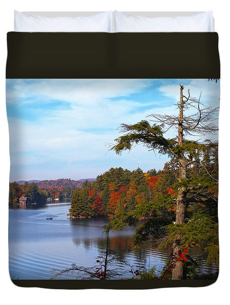 Adirondack View Duvet Cover