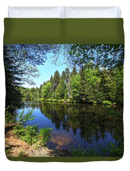 Adirondack Waters Duvet Cover