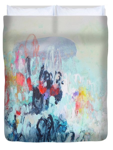 Admirable Intentions Duvet Cover
