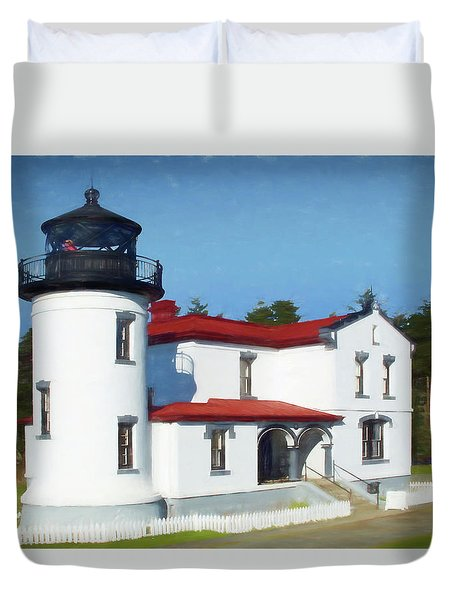 Admiralty Head Lighthouse #2 Duvet Cover