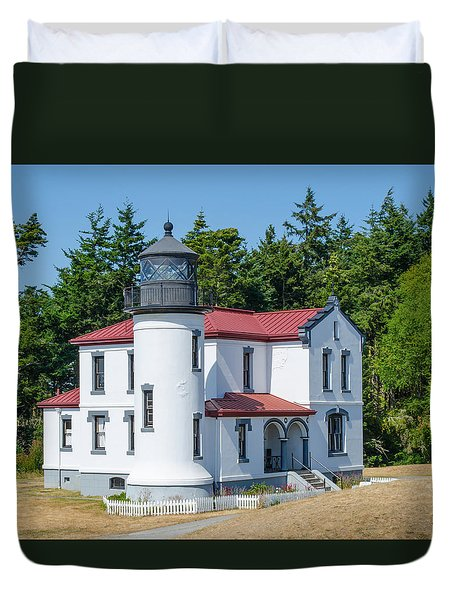 Admiralty Head Lighthouse  Duvet Cover