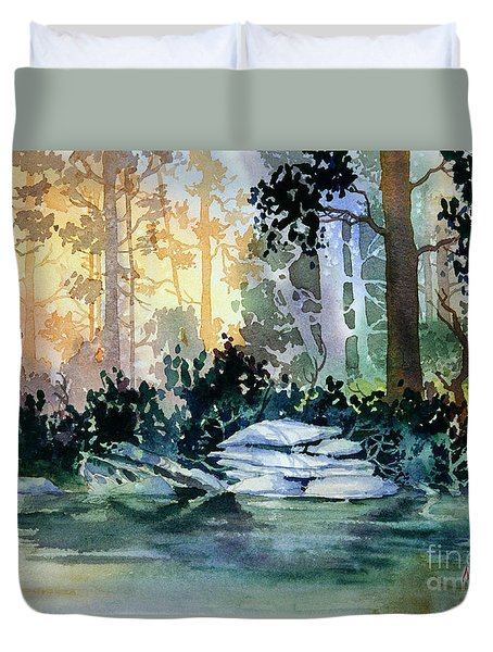 Admiralty Island Duvet Cover