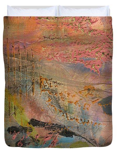 Admiring God's Handiwork II Duvet Cover by Angela L Walker