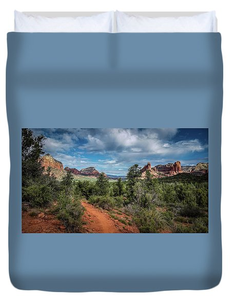 Adobe Jack Trail Duvet Cover