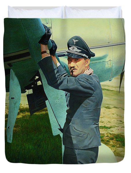 Adolf Duvet Cover