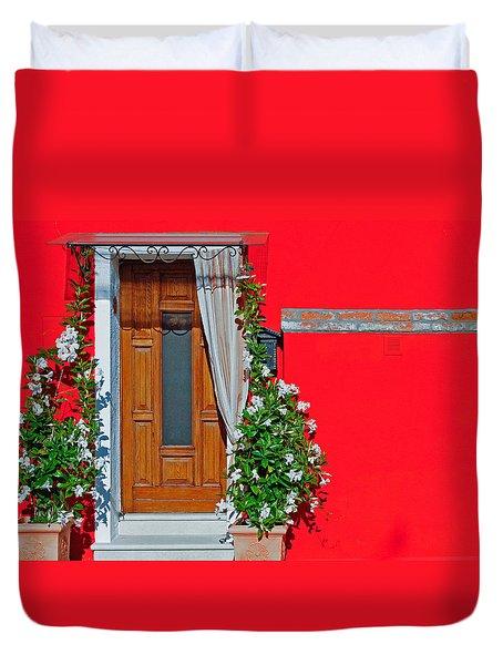 A-door-ned Duvet Cover