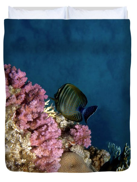 Adorable And Beautiful Red Sea Duvet Cover