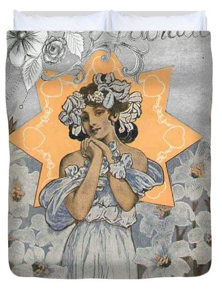 Adoration Art Deco Duvet Cover